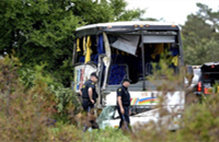 24 Chinese tourists wounded in bus crash in Canada