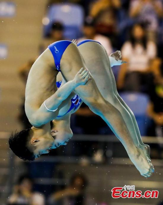 China's Lian and Si dive to gold at FINA World Cup