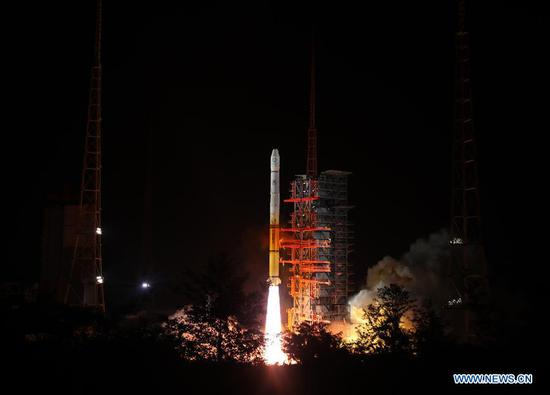 China launches meteorological satellite to benefit Belt and Road countries