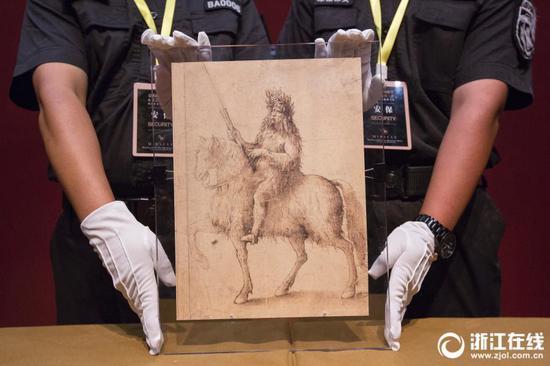 Zhejiang exhibition shows work of three Renaissance masters