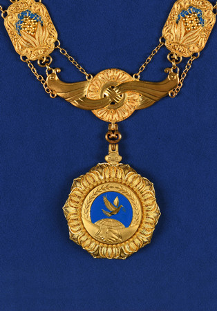 The Friendship Medal. (Photo/Xinhua)