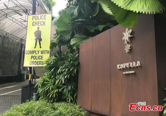 A peek at Capella Resort Singapore, host of the Trump-Kim summit