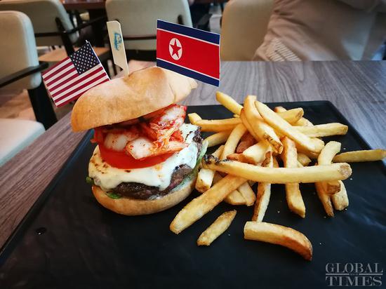 Restaurant in Singapore sells 'cowboy kimchi burgers' ahead of the Kim-Trump summit