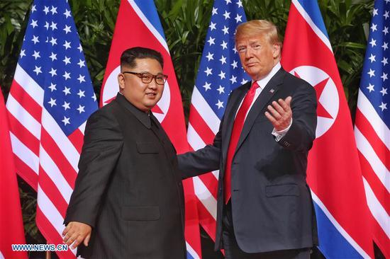 China welcomes DPRK-U.S. summit achievements