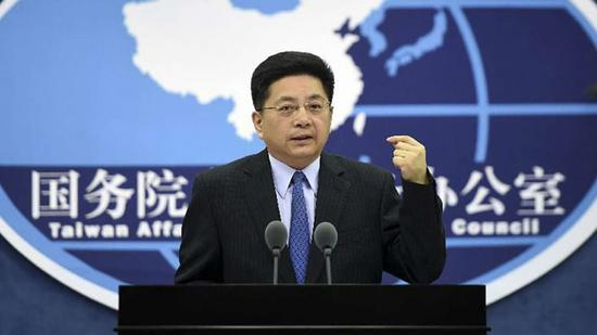 Ma Xiaoguang, spokesman for the Taiwan Affairs Office of the State Council. (File photo)