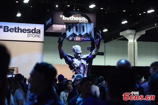 E3 gaming expo in Los Angeles