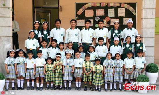 This unique Indian school has 17 pairs of twins