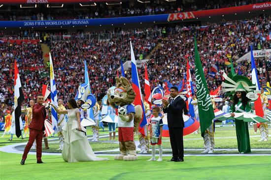 Russia kicks off FIFA World Cup with a promise to 'live it up'