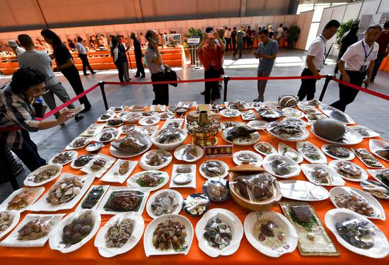 A feast for the eyes: stone banquet in Xinjiang