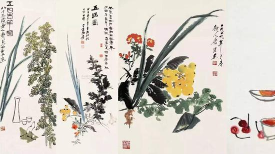Dragon Boat Festival in Chinese paintings