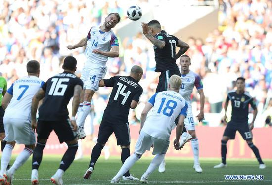Messi misses penalty as Iceland earn first World Cup point