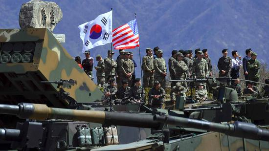 S Korea, U.S. may announce suspension of major military drills this week