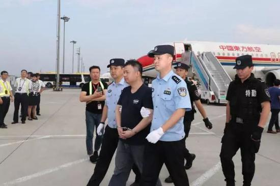 Red Notice fugitive returns to China