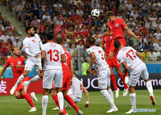 Harry Kane hits twice to give England 2-1 win over Tunisia in World Cup Group G match