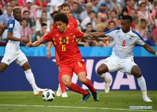 Belgium beat Panama 3-0 in World Cup Group G match