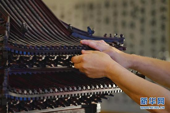 Vivid Palace Museum Turret model created by Hebei folk craftsmen