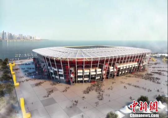Made-in-China containers to form modular stadium for 2022 World Cup
