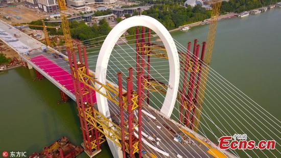 Baisha Bridge sets world record