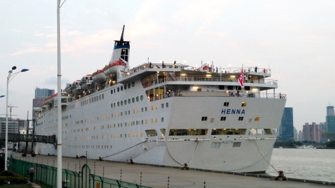Shanghai aims to ride the waves of the cruise tourism economy