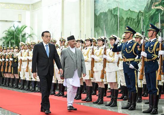 China, Nepal pledge to enhance cooperation