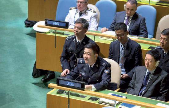 China backs enhanced UN peacekeeping
