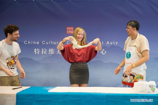 Chinese food festival event held in Tel Aviv
