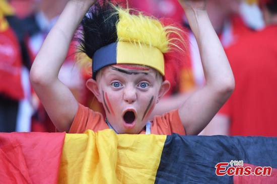 Young, cute fans in World Cup