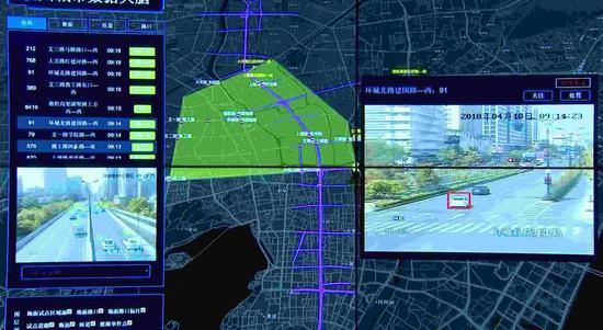 Alibaba's ET City Brain is now one of the most cutting-edge and comprehensive smart city programs in China. /CGTN Photo