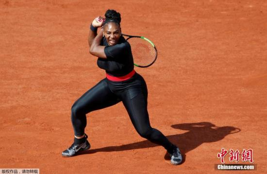 Photo taken on May 29, 2018 shows Serena Williams of the U.S in action during French Open. (Photo/Agencies)