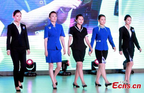 Tianjin Binhai International Airport releases new uniforms