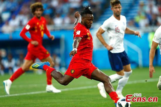 Belgium beats England to top spot with Januzaj strike