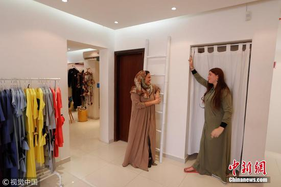 Saudi woman designs abayas for freer lifestyles