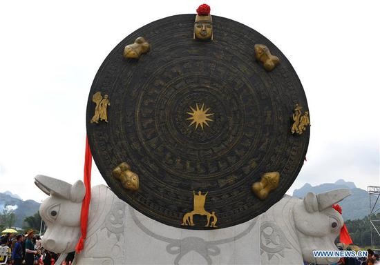 中国铜鼓刷新了吉尼斯世界纪录