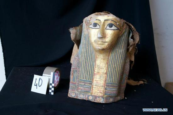 Egypt retrieves smuggled artifacts, ancient coins busted in Italy