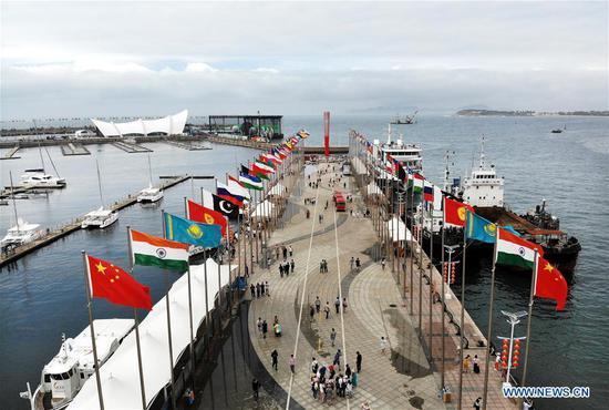 十八届上海合作组织峰会期间使用的地点在青岛向公众开放