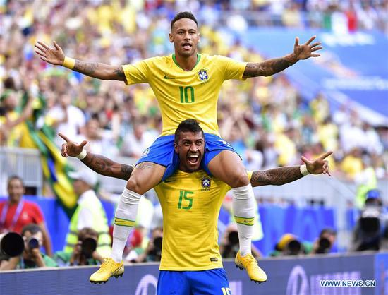 巴西,比利时晋级八强