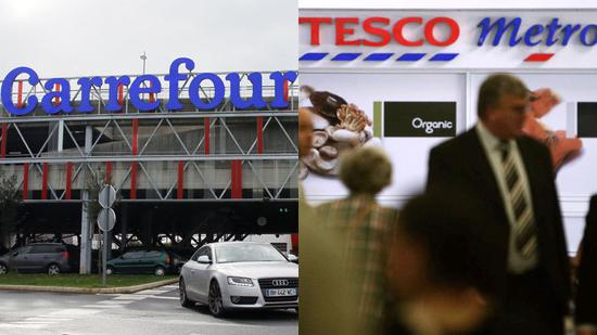 Carrefour, Tesco plan 'strategic alliance' to boost competitiveness