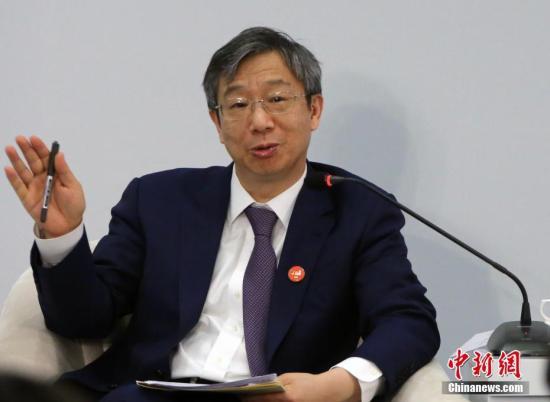 Yi Gang, China's central bank governor. (Photo/China News Service)