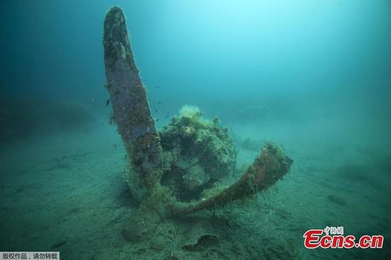 US warplane wreck off French island under research