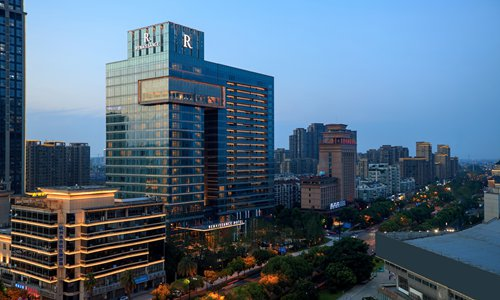 The new Renaissance Hangzhou Northeast Hotel in Hangzhou, Zhejiang Province (Photo/ Courtesy of Marriott International)