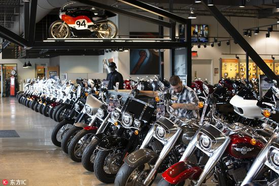 Another U.S. motorcycle maker may move some production
