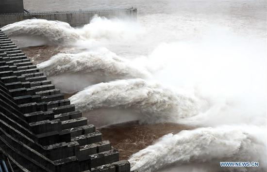 Three Gorges reservoir braces for flood