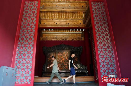 Palace Museum to open imperial furniture exhibition