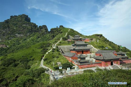 New world heritage site Fanjingshan preserves well-conditioned ecosystem