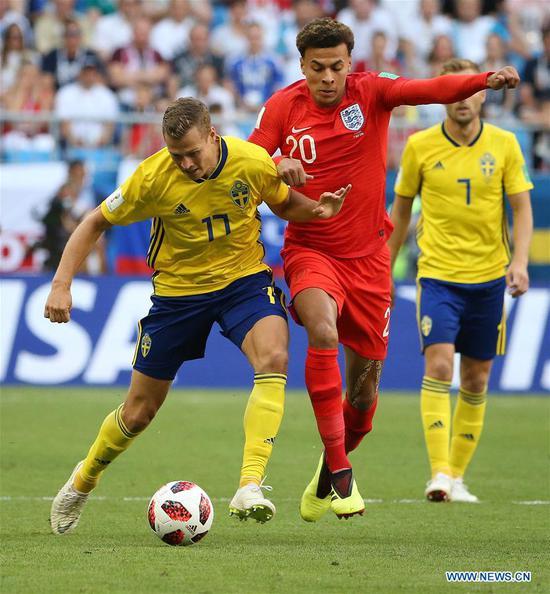 England, Sweden get last World Cup quarterfinal spots