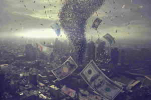The U.S. is plundering the world's wealth