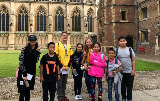 Why Chinese students are flocking to Britain for holiday learning