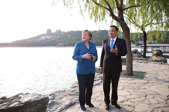 A look back at the past eight Li-Merkel meetings