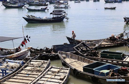 中国沿海省份为迎接台风玛丽亚做好准备