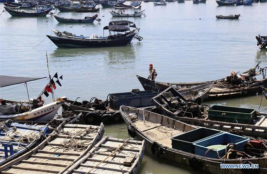 China's coastal provinces brace for approaching typhoon Maria